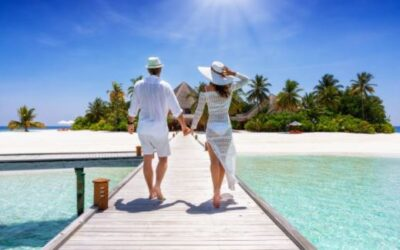 Fly to the Maldives, get a tan, get vaccinated